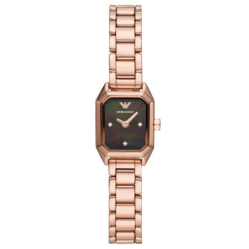 Emporio Armani Ladies' Rose Gold Tone Bracelet Watch - Product number 4720679