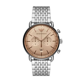 Emporio Armani Men's Chronograph Steel Bracelet Watch - Product number 4720709
