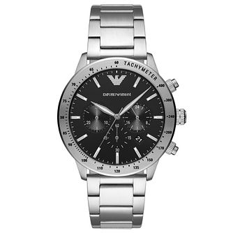 Emporio Armani Chronograph Stainless Steel Bracelet Watch - Product number 4720733