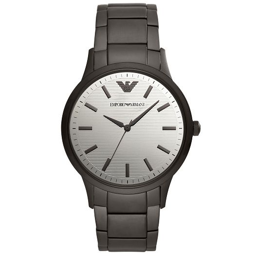 Emporio Armani Men's Black Ip Bracelet Watch - Product number 4721055