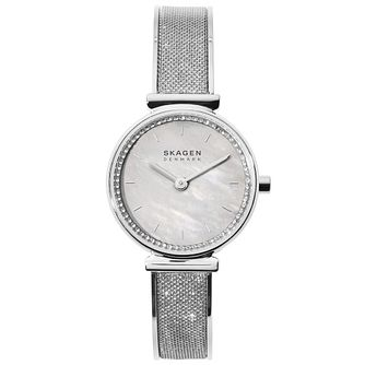 Skagen Annelie Ladies' Glitz Mesh Bangle Watch - Product number 4721128