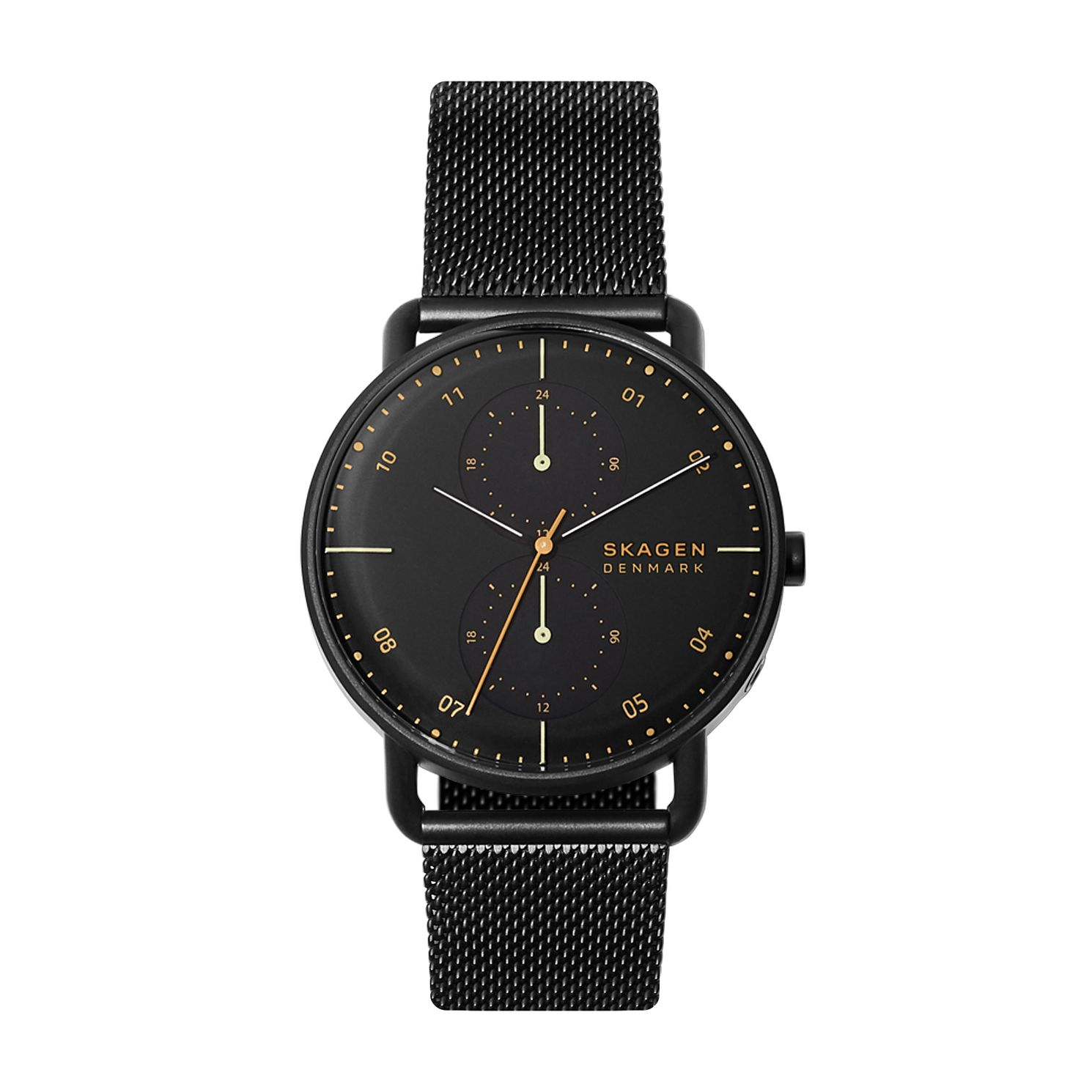 Skagen Horizont Men's Black Ip Mesh Bracelet Watch - Product number 4721195