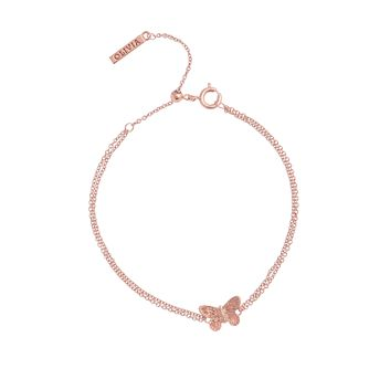 Olivia Burton Rose Gold Plated 3D Butterfly Braclet - Product number 4722566