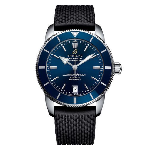 Breitling Superocean Heritage II Men's Black Strap Watch - Product number 4723058