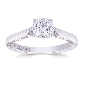 The Forever Diamond 18ct White Gold 1ct Total Ring - Product number 4723759