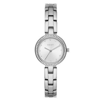 DKNY City Link Ladies' Stainless Steel Bracelet Watch - Product number 4725492