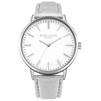 Daisy Dixon Ladies' Silver Strap Watch - Product number 4728122