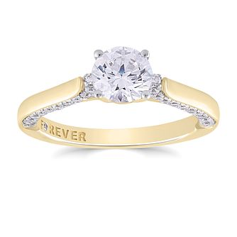 18ct Yellow Gold 1ct Forever Diamond Ring - Product number 4729595