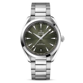 Omega Seamaster Aqua Terra Stainless Steel Bracelet Watch - Product number 4730240