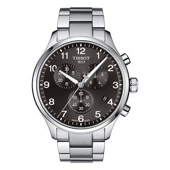 Tissot Chrono Xl Men's Black Bracelet Watch - Product number 4730364