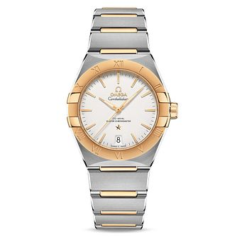 Omega Constellation Manhattan Two Tone Bracelet Watch - Product number 4737067