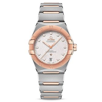 Omega Constellation Manhattan Two Tone Bracelet Watch - Product number 4737083