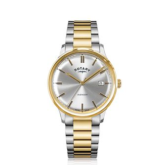 Rotary Avenger Men's Two Tone Bracelet Watch - Product number 4740394