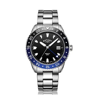 Rotary Henley Men's Stainless Steel Bracelet Watch - Product number 4742850