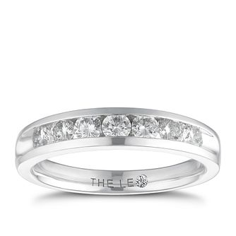 Leo Diamond Platinum 1/2ct I-Si2 Eternity Ring - Product number 4743911