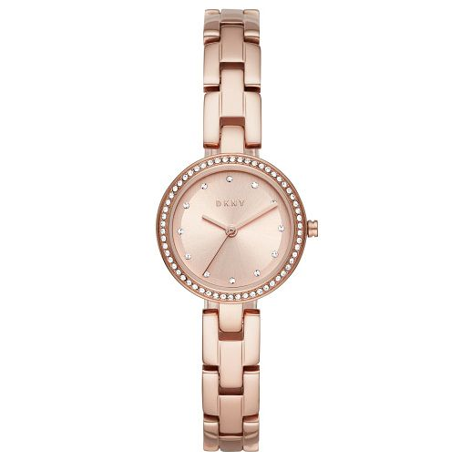 Dkny City Link Ladies' Rose Gold Tone Bracelet Watch - Product number 4744705
