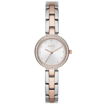DKNY City Link Ladies' Two Tone Bracelet Watch - Product number 4751787