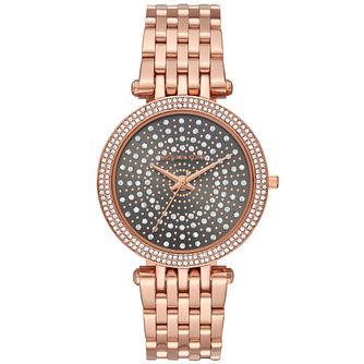 Michael Kors Darci Ladies' Rose Gold Tone Bracelet Watch - Product number 4752341