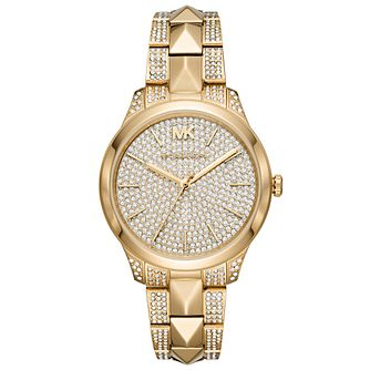 Michael Kors Runway Mercer Gold Tone Bracelet Watch - Product number 4752384