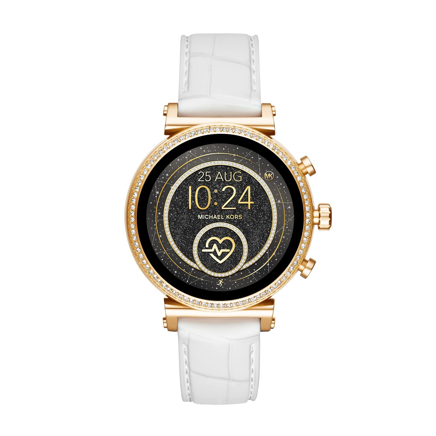 Michael Kors Sofie HR Gen 4 White Silicone Strap SmartWatch - Product number 4752872