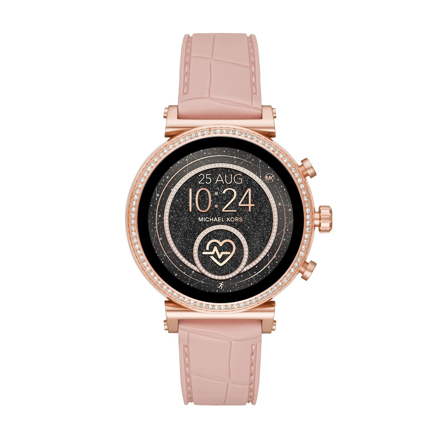 Michael Kors Sofie HR Gen 4 Pink Silicone Strap SmartWatch - Product number 4752899