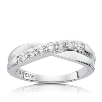 The Forever Diamond 18ct White Gold 0.28ct Ring - Product number 4754336