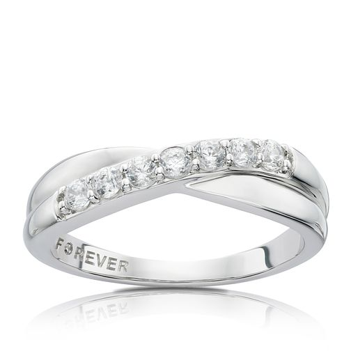 18ct White Gold 0.28 Carat Forever Diamond Ring - Product number 4754336