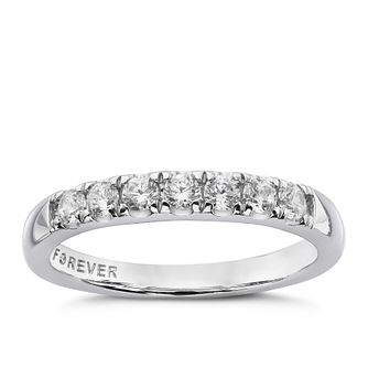 The Forever Diamond Platinum 0.33ct Eternity Ring - Product number 4755200