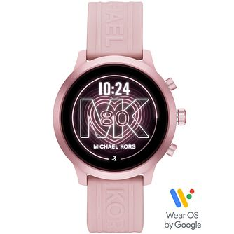 Michael Kors MKGO Gen 4 Pink Silicone Strap Smartwatch - Product number 4762185