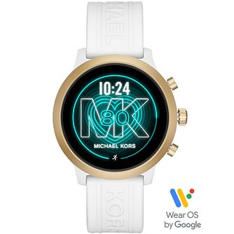 Michael Kors Access Mkgo White Silicone Strap Smartwatch - Product number 4763564