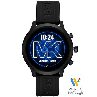 Michael Kors Access Mkgo Black Silicone Strap Smartwatch - Product number 4763572