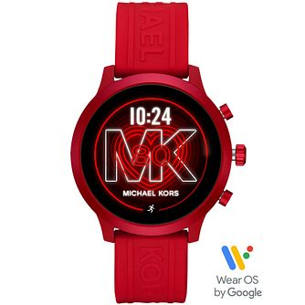 Michael Kors Access Mkgo Red Silicone Strap Smartwatch - Product number 4763580