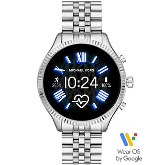 Michael Kors Lexington Gen 5 Silver Tone Smartwatch - Product number 4763599