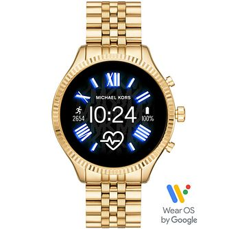 Michael Kors Lexington Gen 5 Gold Tone Smartwatch - Product number 4763602