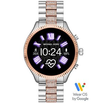 Michael Kors Access Lexington 2 Crystal Two-Tone Smartwatch - Product number 4763629