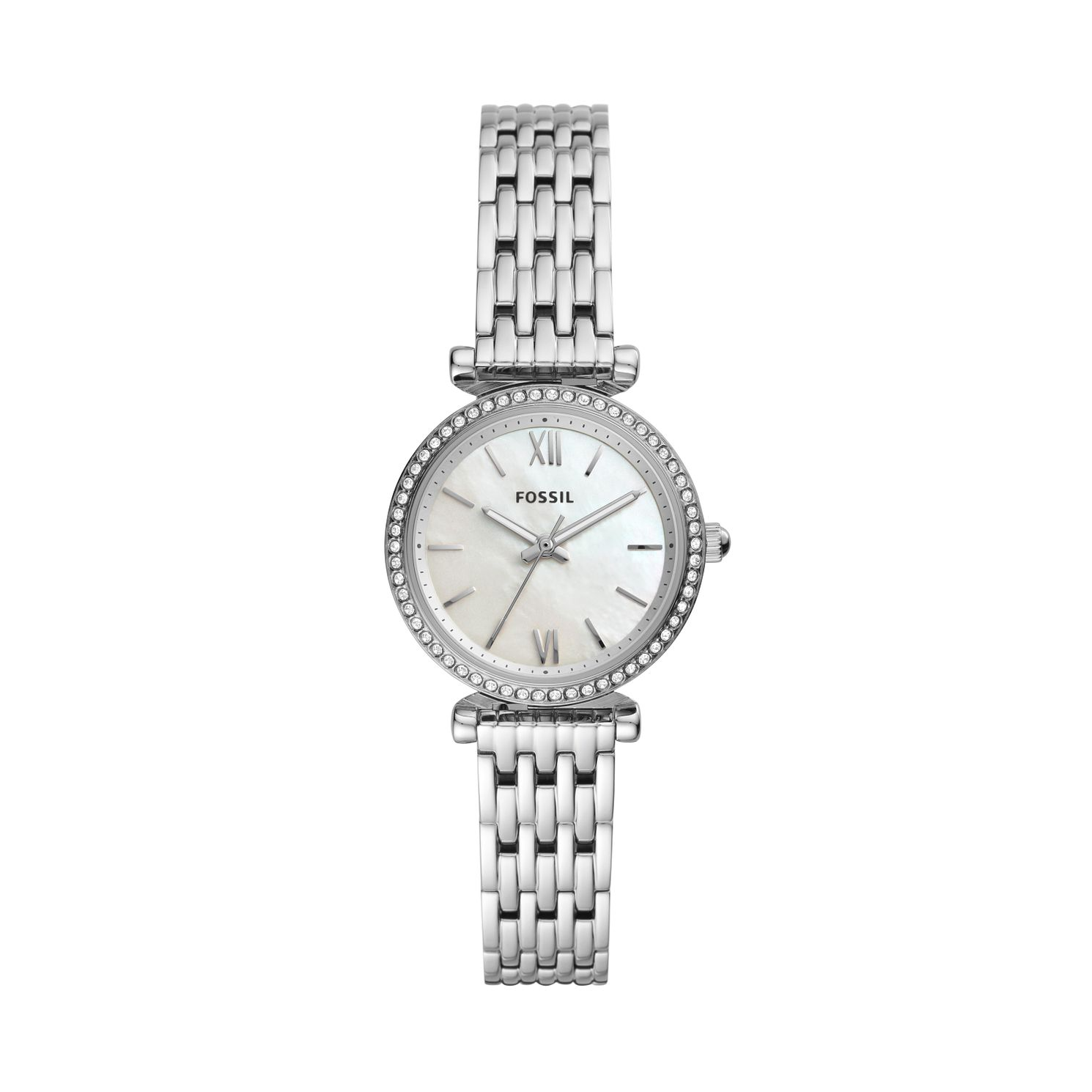 Fossil Carlie Ladies'stainless Steel Bracelet Watch - Product number 4763637