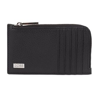 BOSS Crosstown Men's Black Leather 5Cc Wallet - Product number 4764048