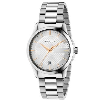 Gucci G-Timeless Stainless Steel Bracelet Watch - Product number 4764218