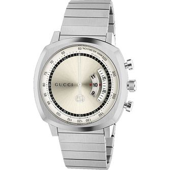 Gucci Men's Stainless Steel Grip Bracelet Watch - Product number 4767667