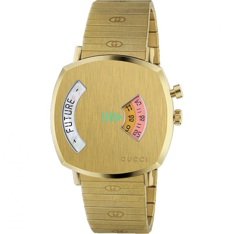 Gucci Grip Unisex Yellow Gold Bracelet Watch - Product number 4767683