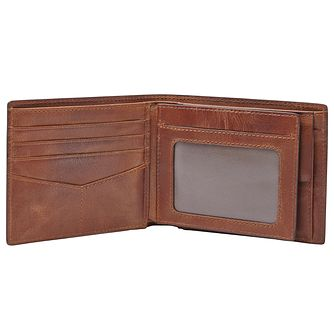 Fossil Men's Brown Coin Wallet - Product number 4769392
