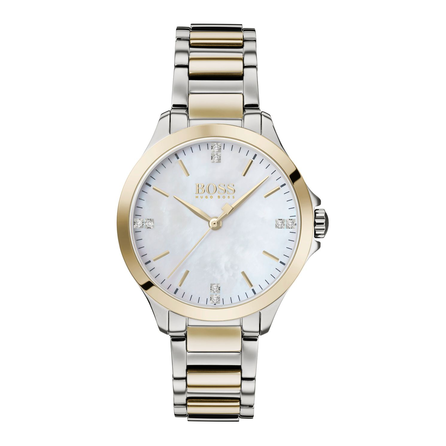 BOSS Diamonds Ladies' Two Tone Bracelet Watch - Product number 4770048