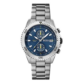 BOSS Vela Men's Stainless Steel Bracelet Watch - Product number 4770722
