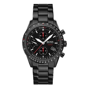 BOSS Aero Men's Black Ip Bracelet Watch - Product number 4770811