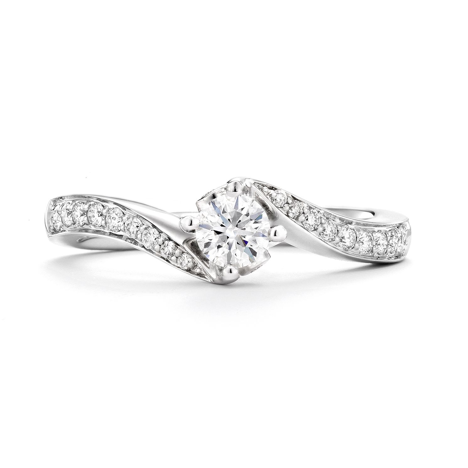 Tolkowsky 18ct White Gold 1/3ct Diamond Ring - Product number 4771524