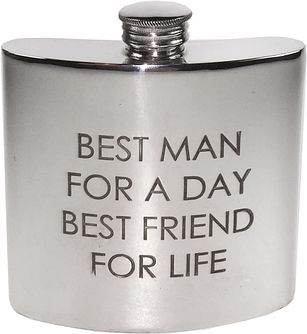 Best Man Hip Flask - Product number 4773101