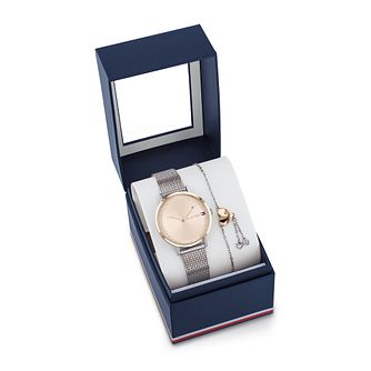 Tommy Hilfiger Pippa Two Tone Watch & Bracelet Gift Set - Product number 4781449