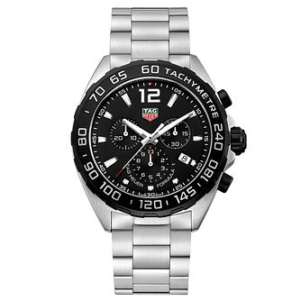TAG Heuer Formula 1 Men's Stainless Steel Bracelet Watch - Product number 4797574