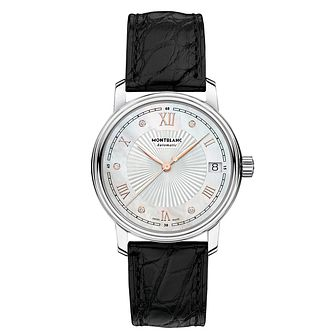 Montblanc Tradition Ladies' Stainless Steel Strap Watch - Product number 4804007