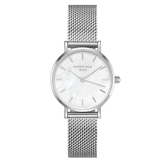 Rosefield Ladies' Stainless Steel Mesh Strap Watch - Product number 4804880
